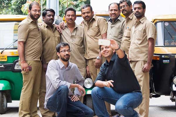 ola cab drivers and founders
